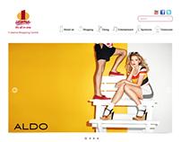 Website Design- 1 Utama Shopping Center