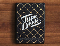 The Type Deck - Typography Playing Cards & T-Shirts