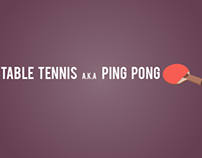 Motion Graphic- Table Tennis