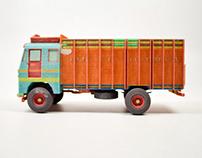 MINIATURE INDIAN TRUCK