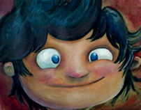 pintura OLEO-ACRILICO