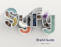 Syfy Channel Brand Guide Website