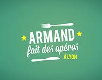 Armand fait des Apéros - Opening