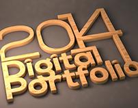 Digital Portfolio 2014