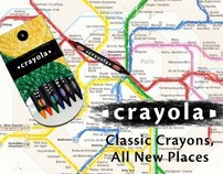 Crayola: Classic Crayons, All New Places