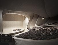 Auditorium, Heydar Aliyev Centre, Baku (2007)