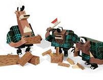 LumberJack - Papertoy