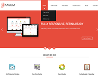 Famium • Corporate, Multipurpose, One Page PSD