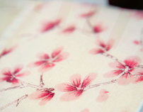 Watercolor Poetry - Textile Pattern Design