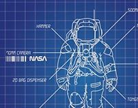 National Space Centre Space Shuttle Era Leaflet
