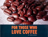 For Those Who Love Coffee