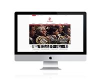 Moscow Philharmonic - Web Layout