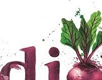 Logo design & illustration fruit n veg company