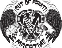 Identity Graphics for Out of Print Magazine