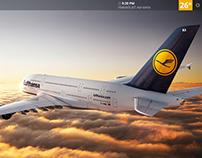 Lufthansa Inflight • UI