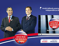 Landing page André Moreira