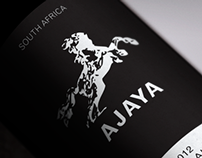 Ajaya wine bottle design