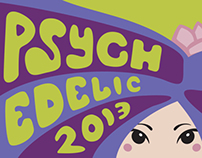 Psychedelic Art Poster