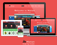 Motion template free PSD