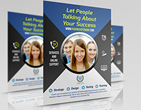 Corporate Business Flyer Template Vol.3