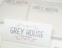 Grey House B&B Identity
