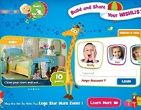 Concept tablet app for Kids & Parents