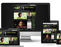 Ubuntu Radio Responsive Website