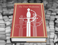 The Three Musketeers- Book Cover Design