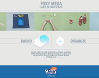 FOXY MEGA - THE ART OF MAKING ROOM.