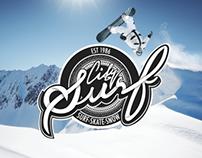 City Surf cardiff Branding (uni project)