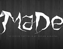 MaDe Ghosted Typeface