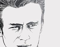 JAMES Dean Vectorial_Illustration