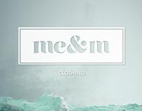 me&m brand design