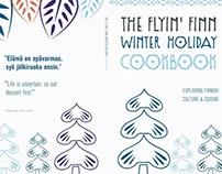 Finnish Cuisine Poster & Cookbook Spreads