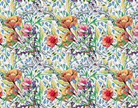 Wallpaper pattern design 15 Edouard Artus ©2012