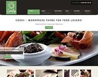 Cooky, WordPress Premium Responsive Restaurant Theme