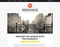 Wentasi, WordPress Premium Responsive Tumblog Theme
