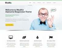 Wealthz, WordPress Premium Responsive Theme