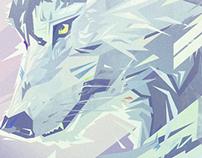 Beast portrait - W O L F