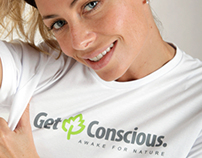 Get Conscious - Logo and Merchandise Design