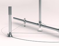 Šestilo za risanje elipse / Ellipse-drawing compasses