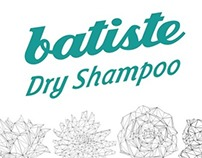 Batiste Dry Shampoo packaging Designing