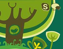 Kindergarten web graphics