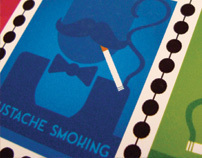 """Cough!!!""  - Tobacco Pouches"