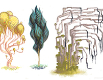 Concept art - Trees