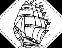 Business Card Caravela Tattoo