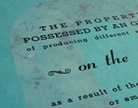 Typographic Mini-poster