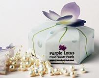 Purple Lotus Pearls Packaging