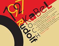 Kabel Typographic Poster