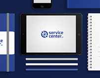 Service Center - Brand Identity